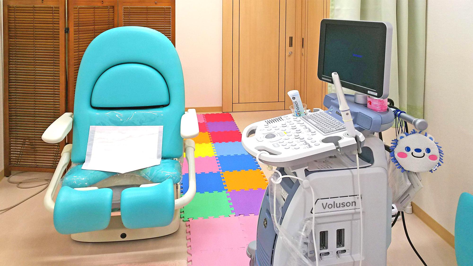 内診室・経腟超音波装置